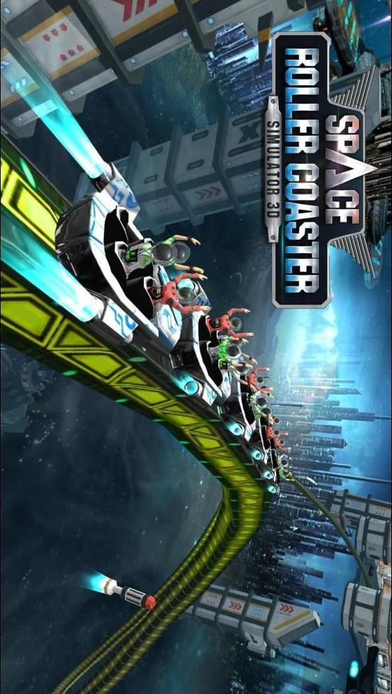 过山车模拟器空间:Roller Coaster Simulator Space APP截图