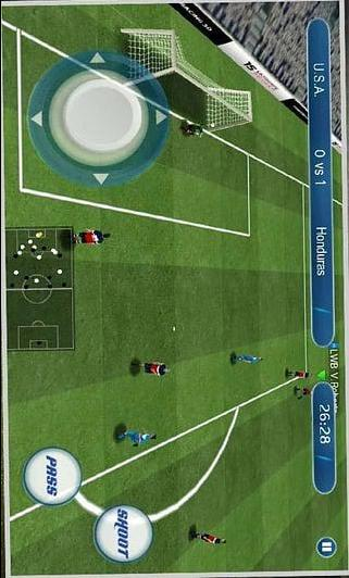 Real football 2015 Pro FIF APP截图