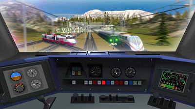 子弹头列车模拟器 APP截图