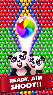熊猫泡泡粉碎 APP截图