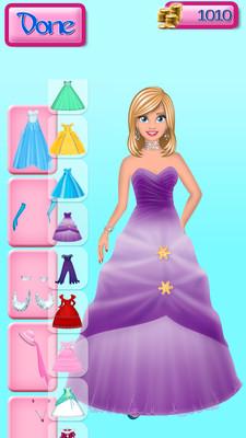 冰雪公主礼服 APP截图