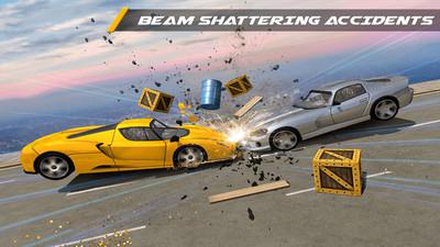 汽车碰撞模拟 APP截图