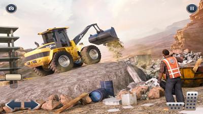 起重挖掘机施工 APP截图