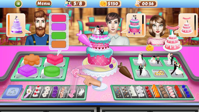婚礼派对蛋糕工厂 APP截图