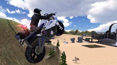 警察摩托车驾驶模拟器 APP截图