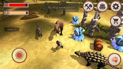 侏罗纪恐龙岛生存 APP截图