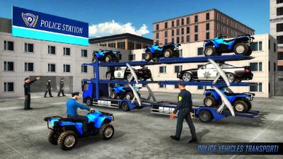 美国警察运输游戏 APP截图