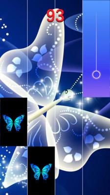 蓝蝴蝶钢琴块 APP截图