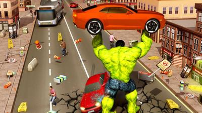 绿巨人城市守卫 APP截图