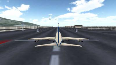 飞机飞行驾驶模拟器 APP截图