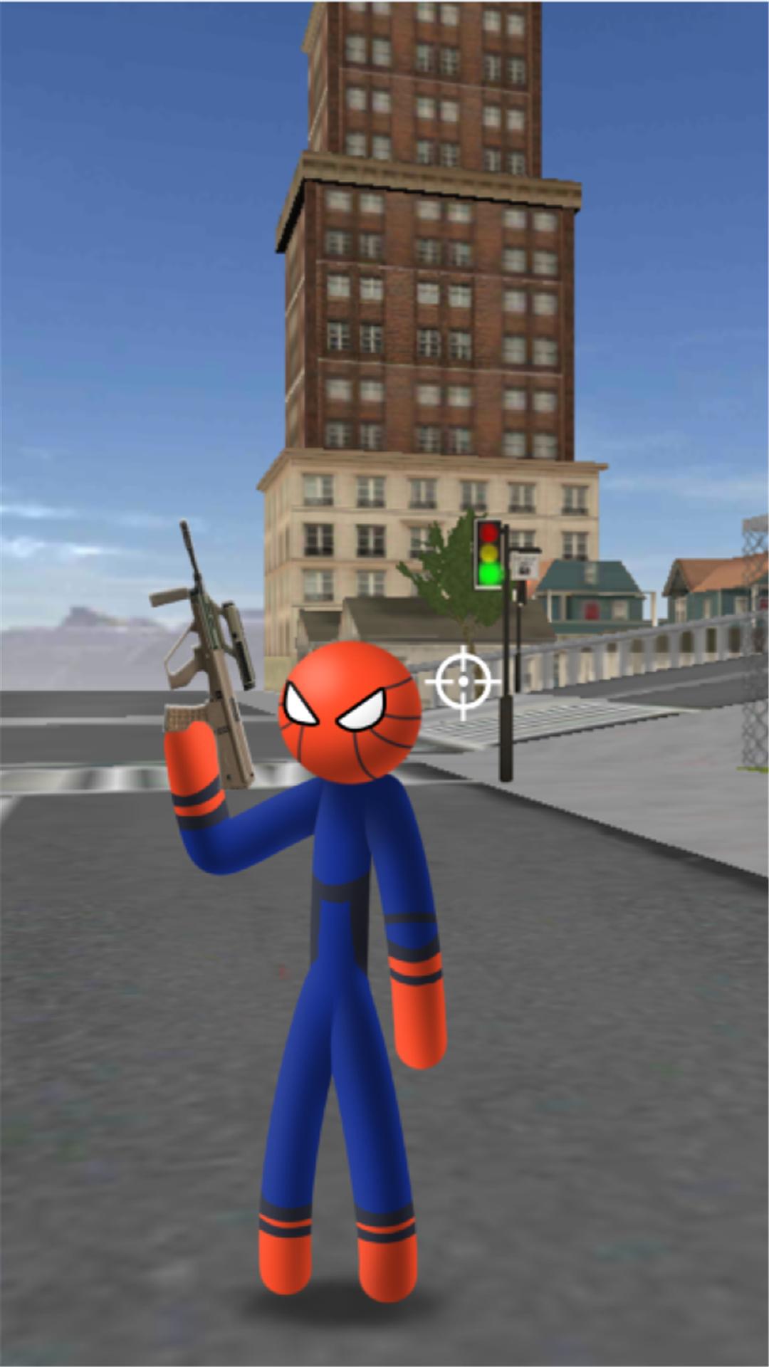 蜘蛛火柴人绳索英雄:城市危机 APP截图