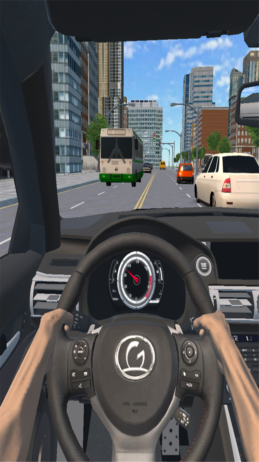 大型越野车模拟 APP截图