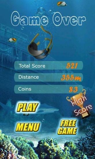 逃离鲨鱼 APP截图