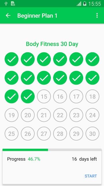 30天健身挑战 APP截图