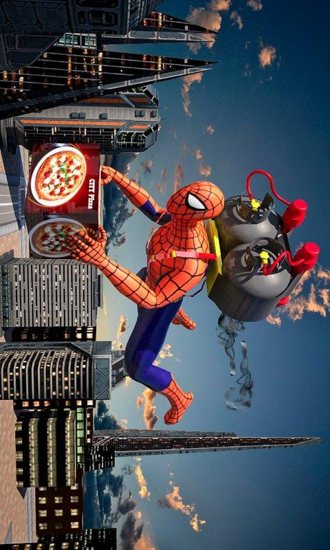 蜘蛛侠英雄格斗 APP截图