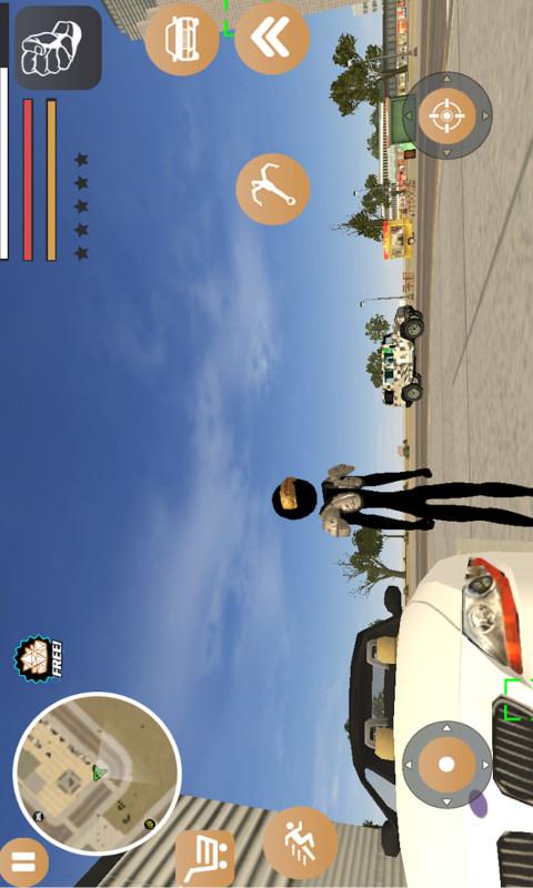 火柴人勇者使命(模拟3D城市冒险) APP截图