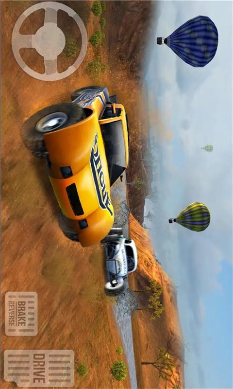 四驱越野赛-梦幻模拟赛车 APP截图