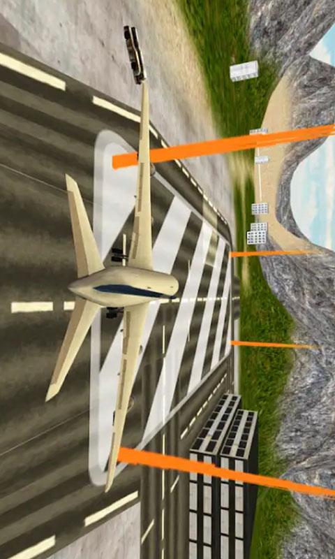 卡通飞机-模拟驾驶 APP截图