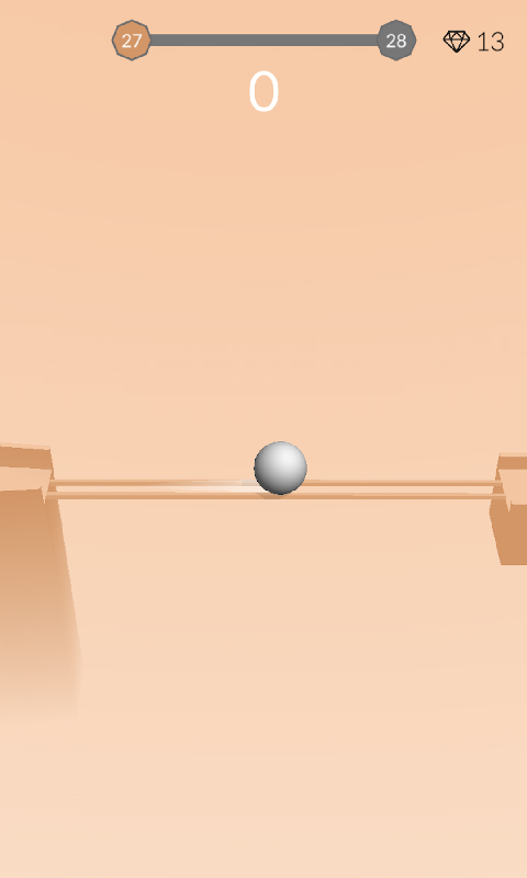 3D平衡球球 APP截图