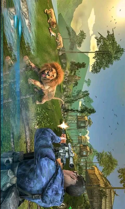 荣耀狙击手-荒野狩猎枪战 APP截图