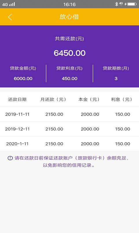 放心贷借钱-贷款软件app APP截图