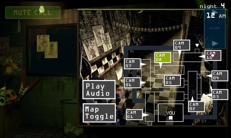 Five Nights at Freddy\'s 3 Demo APP截图
