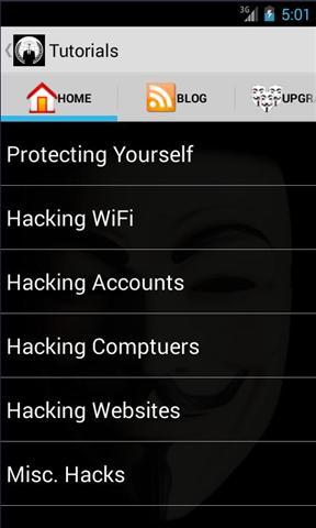 黑客手册 APP截图
