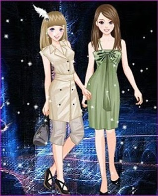 Girls Dressup Makeover Games APP截图