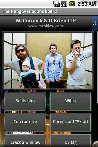 The Hangover Soundboard APP截图