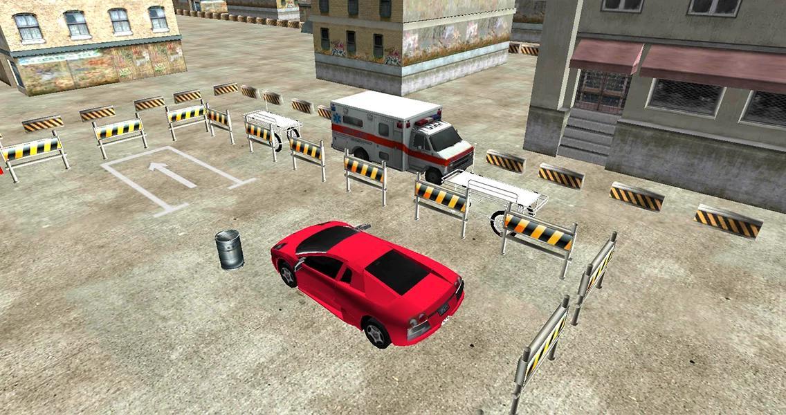 Ambulance 3D Parking Game APP截图