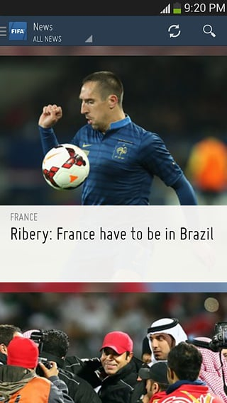 FIFA APP截图
