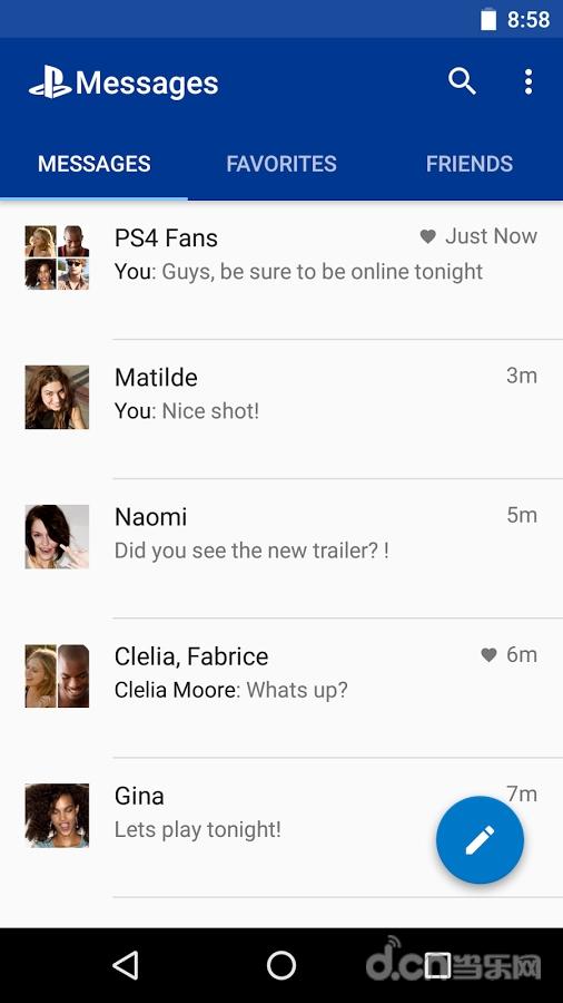 PS消息 PlayStation®Messages APP截图
