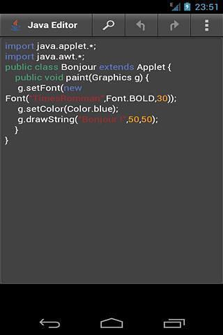 Java编辑器 APP截图