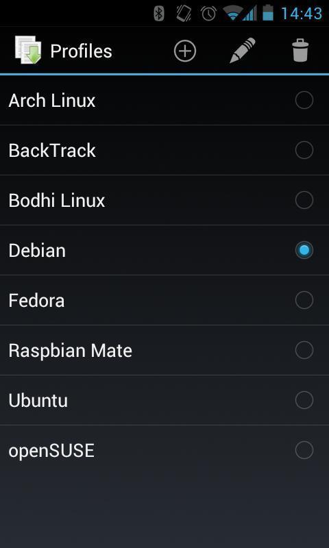 Linux Deploy APP截图