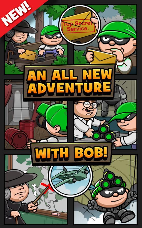 小偷鲍勃3 APP截图