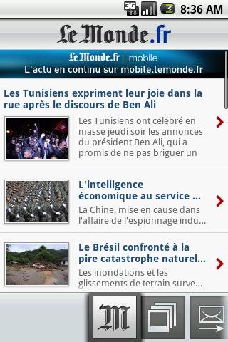 LeMonde.fr APP截图
