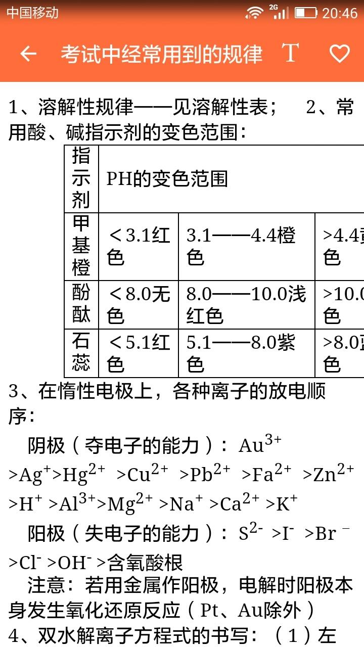 高中化学知识宝典 APP截图