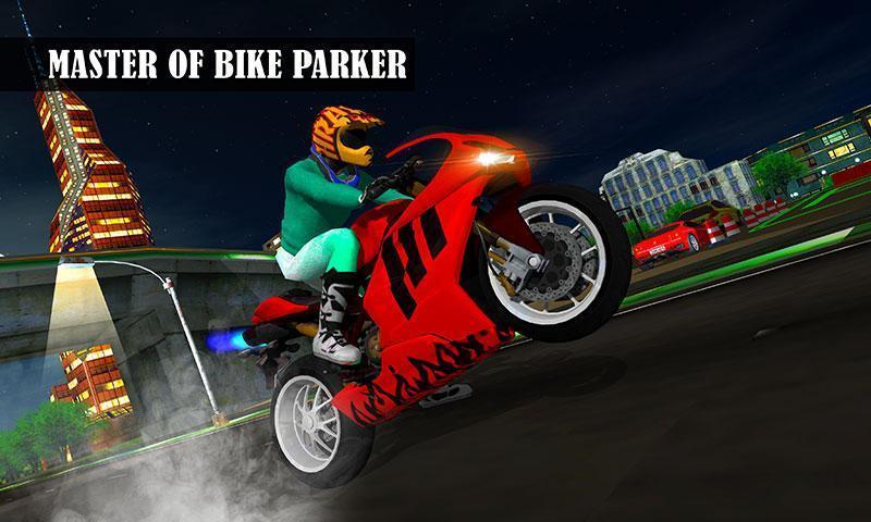 自行车停车场2017 - 摩托车赛车冒险3D APP截图