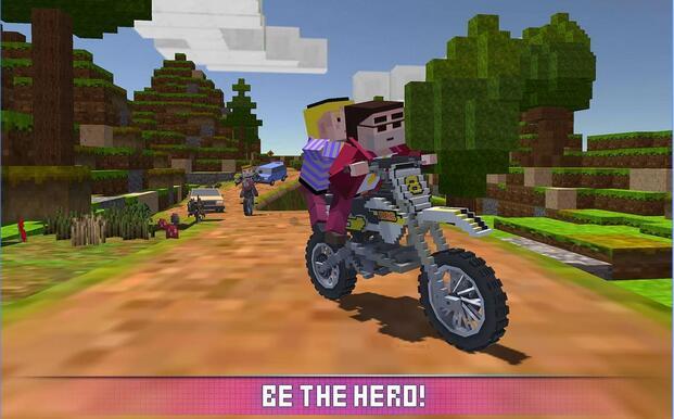 模拟块状摩托车2017 APP截图