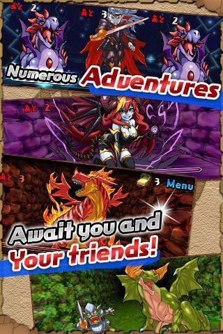 火龙之怒 Puzzle  Dragons APP截图