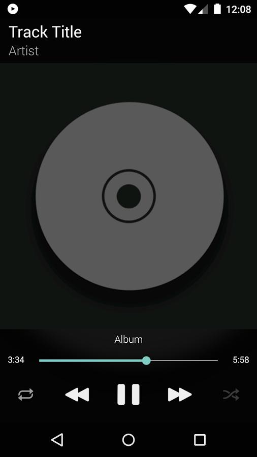 BlackPlayer Music Player APP截图