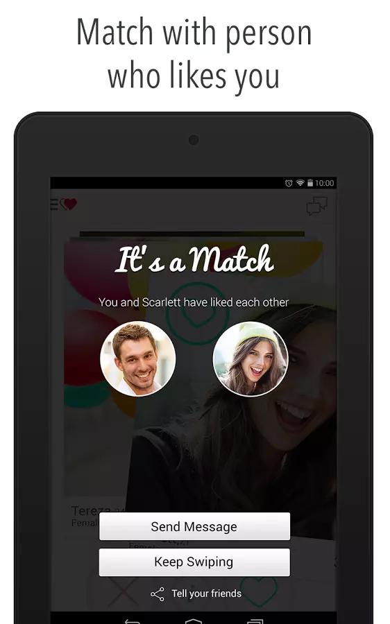 Chat Meet New Friends: W-Match APP截图