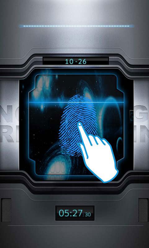 指纹解锁 APP截图
