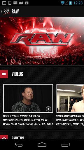 WWE APP截图