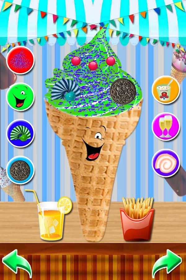 冰淇淋机游戏 - 烹饪 APP截图