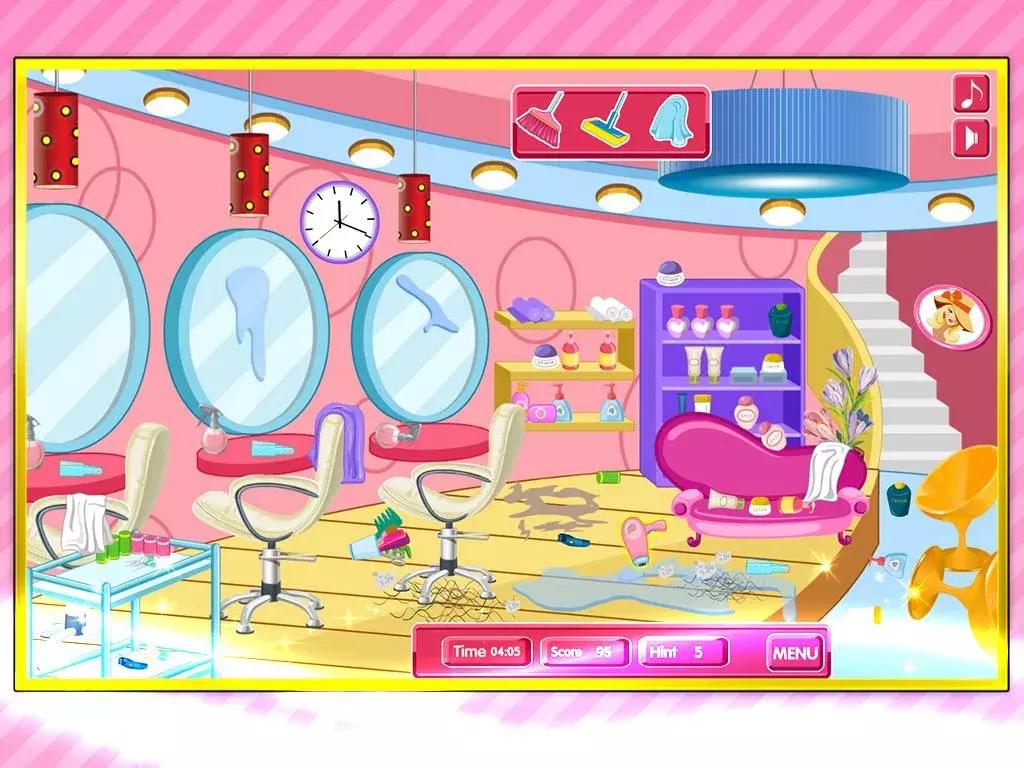 公主清洁房间游戏 APP截图