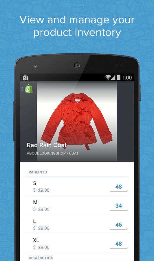 Shopify (Beta) APP截图