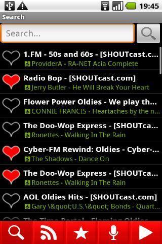 收音机 APP截图