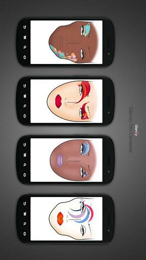 模拟化妆 APP截图