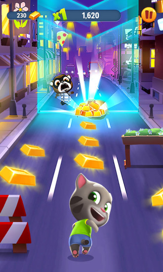 汤姆猫跑酷 APP截图